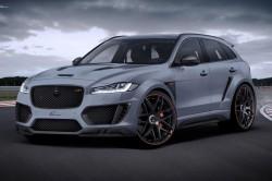 Jaguar F-Pace с тюнингом CLR от Lumma Design