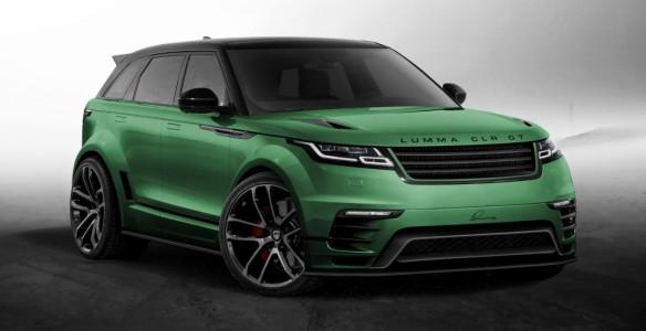 Новый проект Lumma Design - Range Rover Velar CLR GT